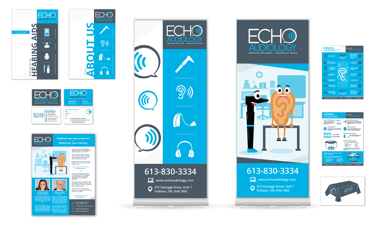 Echo Audiology branding