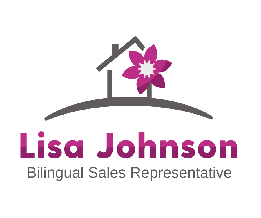 Lisa Johnson logo design